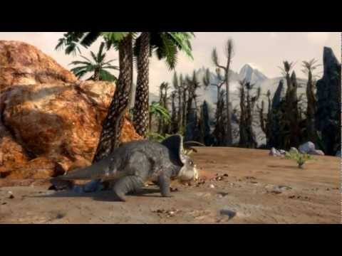 Films from DinoPark Triceratops