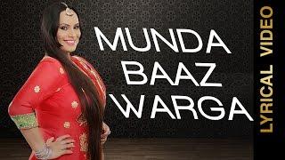 MUNDA BAAZ WARGA || DEEPAK DHILLON || LYRICAL VIDEO || New Punjabi Songs 2016
