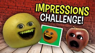 Annoying Orange - The Impressions Challenge!