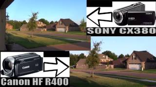 ► SONY VS CANON Camcorder