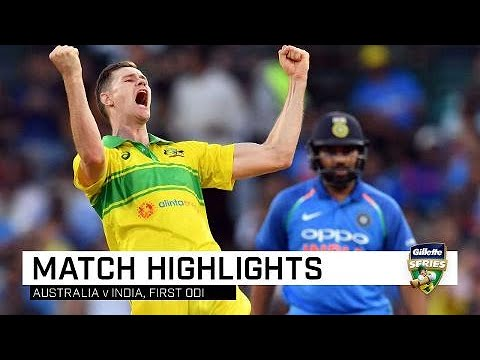 Xxx Mp4 Aussies Bounce Back To Outclass India First Gillette ODI 3gp Sex