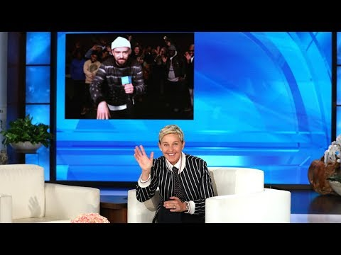 Xxx Mp4 Justin Timberlake Surprises Ellen For Her Birthday 3gp Sex