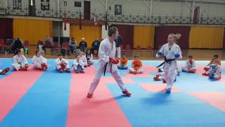 Counter Attacking with Christina Sensei at CIKA England Kumite Training Session
