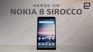 Nokia 8 Sirocco Hands-On at MWC 2018