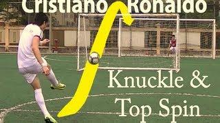 How to Shoot like Cristiano Ronaldo