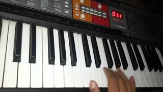Tinku jiya ...yamla pagla deewana piano keyboard
