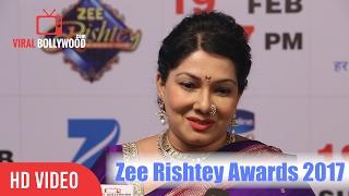 Asawari Joshi At Zee Rishtey Awards 2017 | Viralbollywood