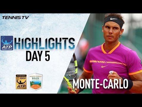 Highlights Nadal Djokovic Prevail Thursday At Monte Carlo Rolex Masters 2017