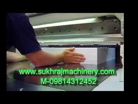 Programmable Fully Automatic Hydaulic A4 Paper Cutting Machine M-098143 12452