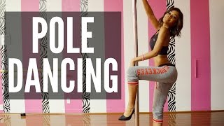 MY BEST STRIPPER MOVES! HOW TO POLE DANCE