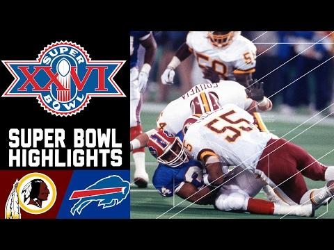 Super Bowl XXVI Recap: Redskins vs. Bills   NFL