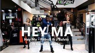 Hey Ma - Pitbull & J Balvin ft Camila Cabello - Coreografia l Cia Art Dance l Zumba®