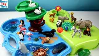 Playmobil Animals Zoo and Aquarium Playset Fun Toys For Kids