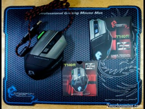 Best Budget Gamin Mouse | UNBOXING Dragon war Thor G9 Gaming Mouse  [INDIA]