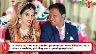 Reema Sahu - Groom - Killed After Opening A Wedding Gift