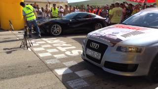 AUDI RS6 MTM GOGI vs. FERRARI F12 750 HP 2014