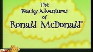 The Wacky Adventures Of Ronald Mcdonald:The Complete Series (All 6 Episodes)