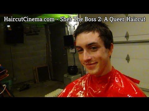 Xxx Mp4 HaircutCinema Com She S The Boss 2 A Queer Haircut 3gp Sex