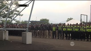 Tim Prabu Melakukan Pengamanan Pertandingan Sriwijaya vs Persib