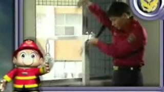 內政部消防署_如何操作緩降機_宣導短片