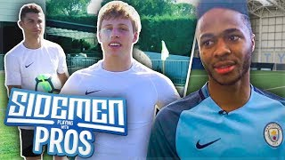 SIDEMEN: PLAYING WITH PRO FOOTBALLERS!