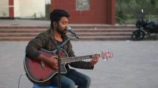 জেল থেকে আমি বলছি acoustic cover by Hasib Akhlak