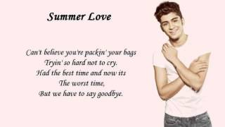 Zayn Malik's Solos in Take Me Home album with lyrics