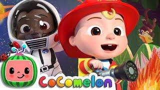 Jobs and Career Song | CoCoMelon Nursery Rhymes & Kids Songs