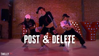 Zoey Dollaz, Chris Brown - POST & DELETE - Dance Choreography by Delaney Glazer - #TMillyTV