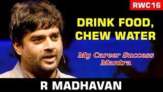 You too can get my Saala Khadoos look: R. Madhavan at the RWC16