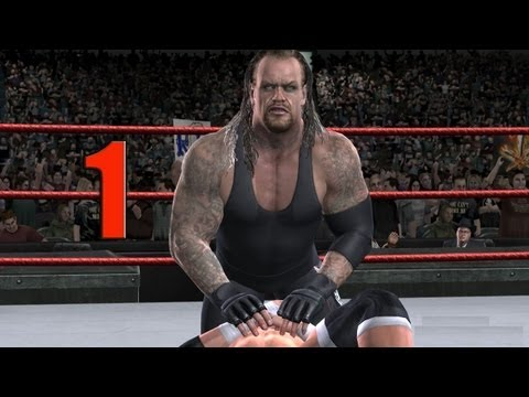 WWE Smackdown vs Raw 2009 UNDERTAKER PART 1 ROAD TO WRESTLEMANIA