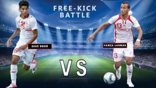 Hamza Lahmar vs Saad Bguir   Free Kick Battle 2016
