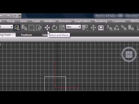 3Ds Max Tutorial 1 Introduction to the Interface
