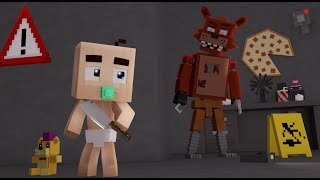 Minecraft - WHO'S YOUR DADDY?! ‹ BEBÊ ANIMATRONIC › (FIVE NIGHTS AT FREDDY'S)