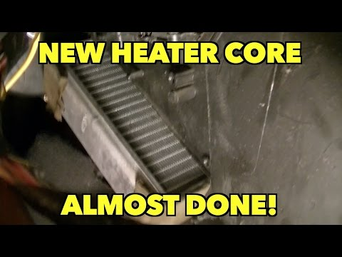 New Heater Core Replacement Ford Taurus Almost Done Yea
