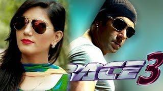 Sapna Chaudhary Item Song With Salman Khan in Race 3