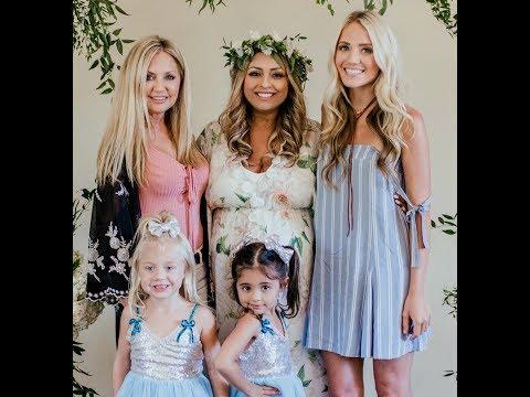 Everleigh Soutas and Ava Foley celebrate Jayden's Baby shower for Michelle Foley! I Foreverandforava