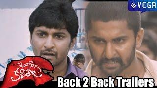 Janda Pai Kapiraju Movie Back 2 Back Trailers - Nani, Amala Paul - Latest Telugu Movie Trailer 2014
