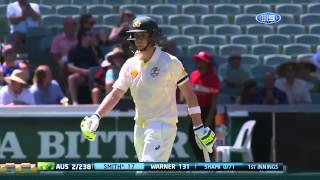 Highlights of day one, first Test