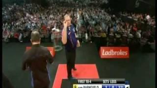Raymond van Barneveld - All Five 9 - Dart Finishes