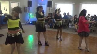 The Cumbia Semana line dance...