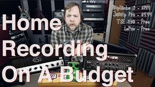 Tutorial: Home Recording On A Budget