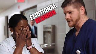 Watch emotional reunion between Alabama nurse and former patient