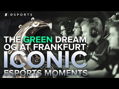 ICONIC Esports Moments: The Greatest Lower Bracket Run in Dota 2 History! OG at the Frankfurt Major