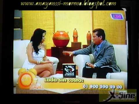 Patotas de Anayanssi Moreno en Mini Vestido Blanco