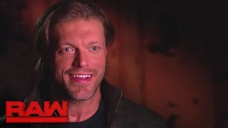 Edge reflects on his Royal Rumble Match return in 2010: Raw, Jan. 9, 2017