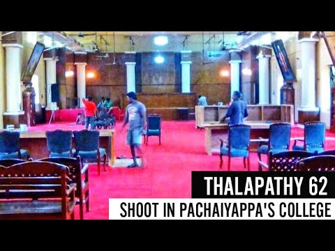 Xxx Mp4 Exclusive Thalapathy 62 Shoot Happening In Pachaiyappa S College Chennai Next Schedule In America 3gp Sex