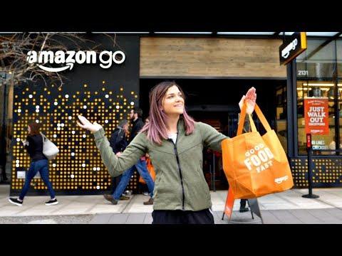 Inside the NEW Amazon Go Cashierless Store
