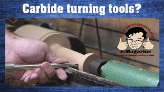 Turning tools: Carbide vs. HSS - Which is better? (Making a wooden mallet)