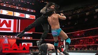 Roman Reigns & Seth Rollins vs. Jinder Mahal & Elias: Raw, June 4, 2018